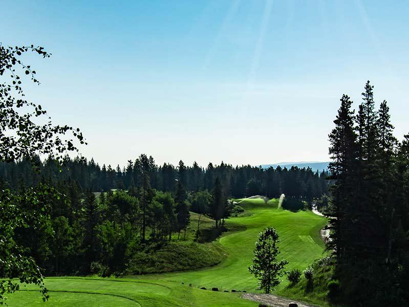 Brewster's Golf, Kananaskis Ranch - another picture of a fairway.